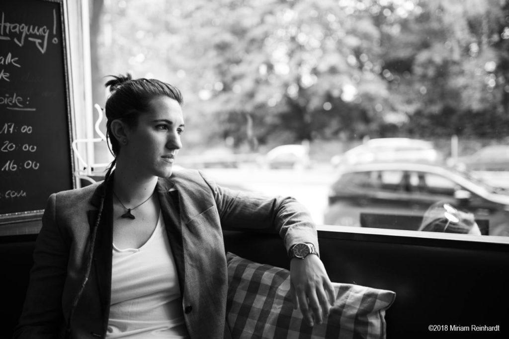 Portrait Laura Maschio par Miriam Reinhardt