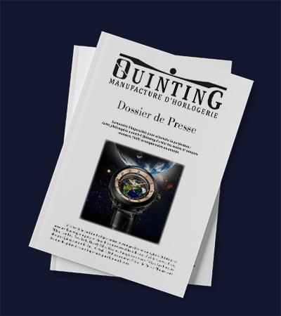 Dossier de presse clé en main QUuinting par Laura Maschio