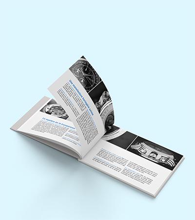 Catalogue de présentation de la collection Quinting Joaillerie par Laura Maschio
