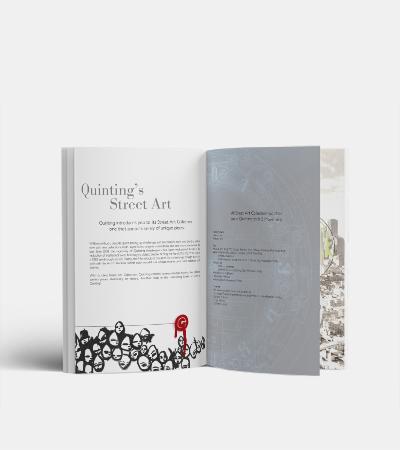Catalogue produit collection Quinting Street Art par Laura Maschio