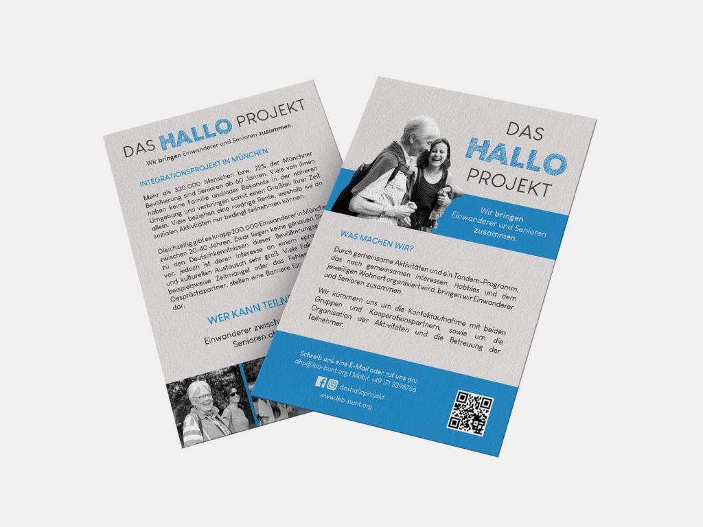 Flyers Das Hallo Projekt