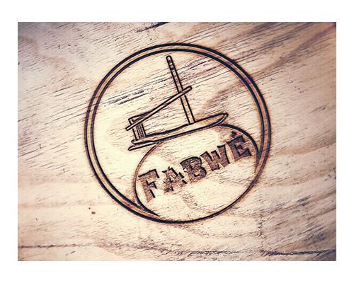 Logo Fabwé par Laura Maschio