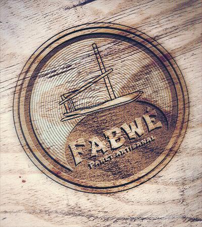 Logo Fabwé (paret artisanal) par Laura Maschio