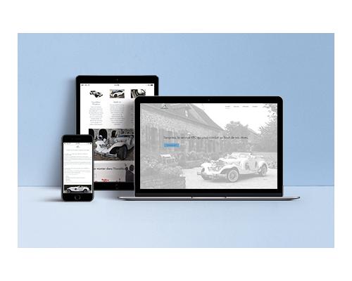 Site Internet responsive service VTC