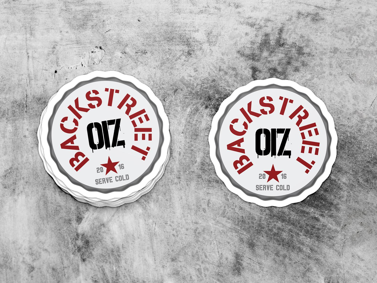 Stickers Backstreet OIZ
