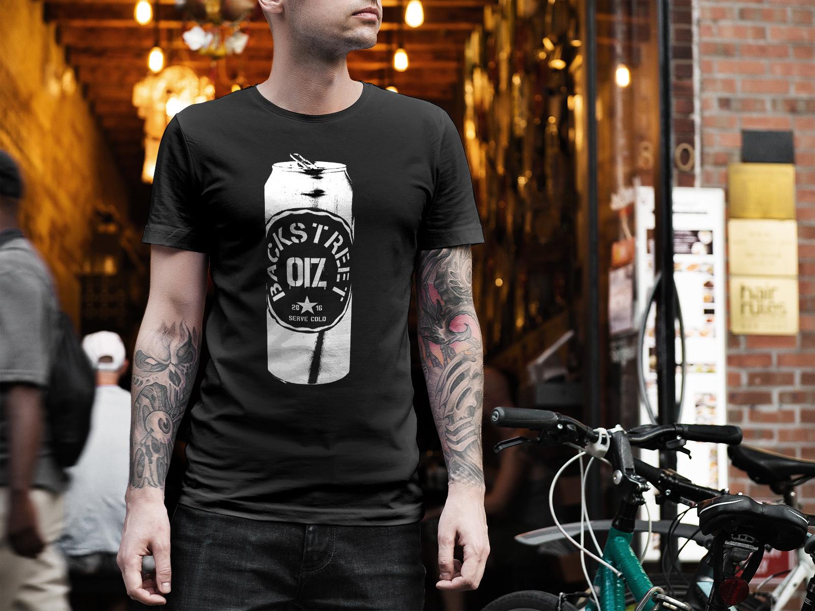 T-shirt Backstreet OIZ