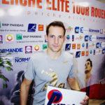 Renaud Lavillenie avec le logo Punch